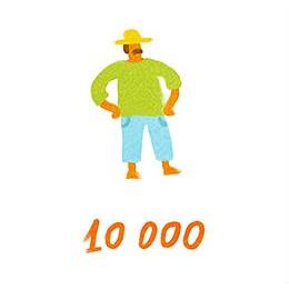 10 тысяч человек — население Сен-Бартольми.